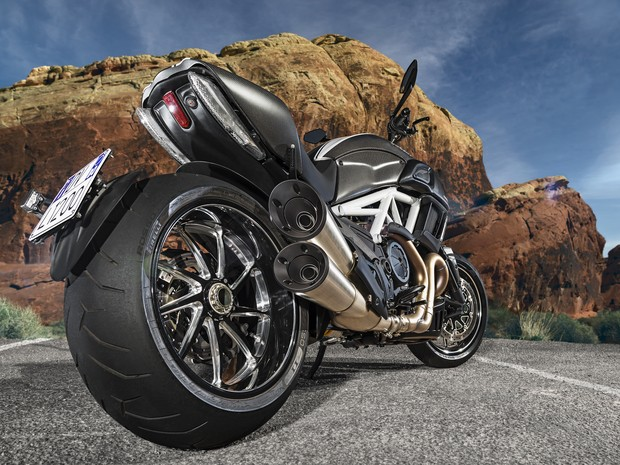 Ducati Diavel (Foto: Divulgação)