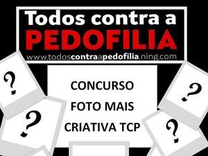 Todos Contra a Pedofilia concurso foto fotografia Divinópolis MG (Foto: Todos Contra a Pedofilia/Divulgação)