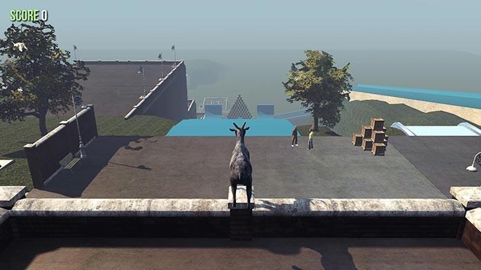 The Hill Alpha tem várias rampas para arremessar a sua cabra (Foto: Divulgação/Steam)