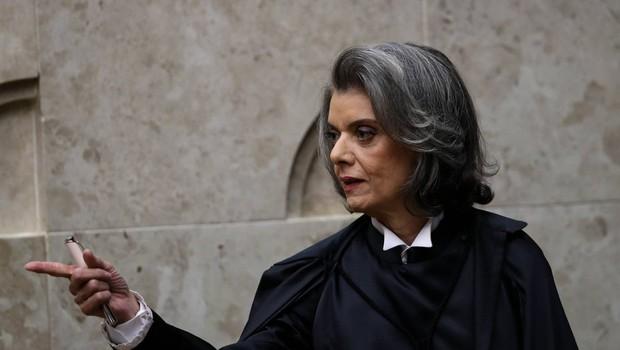 A ministra Cármen Lúcia toma posse como presidente do Supremo Tribunal Federal (STF) em setembro de 2016 (Foto: Fernando Bizerra Jr./EFE)