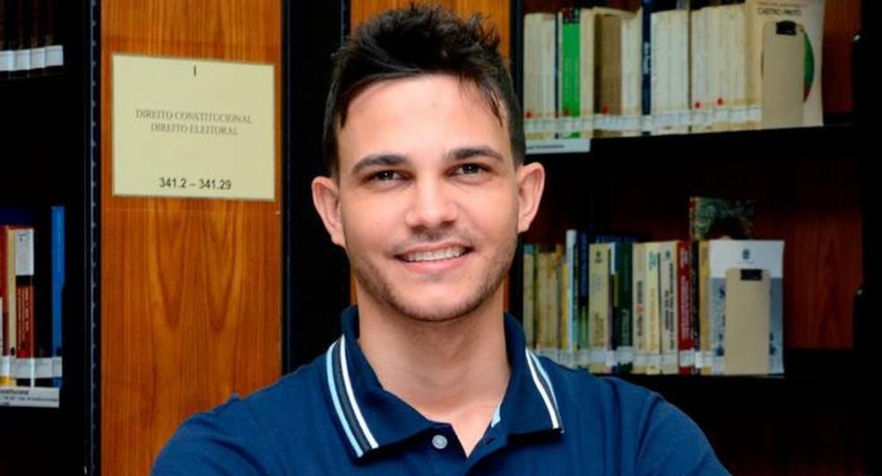 Wemerson da Silva Nogueira está entre os 50 finalistas do Global Teacher Prize (Foto: Divulgação/ Sedu)