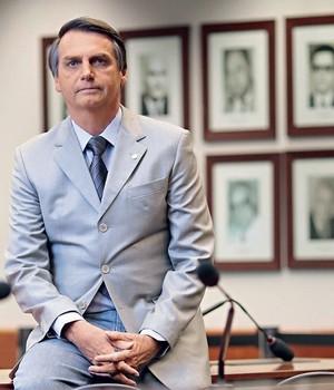 """PROCURE SABER O deputado Jair Bolsonaro na Câmara. """"Há problemas que não gostaria que fossem revelados pela minha ex-mulher, mesmo sendo verdadeiros"""" (Foto: Igo Estrela/ÉPOCA)"""