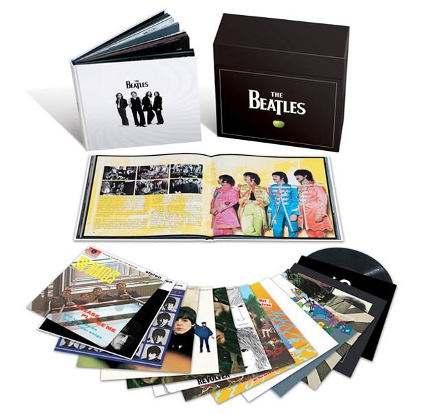 A caixa de vinis remasterizados dos Beatles 'The stereo albums' (Foto: Divulgação)