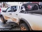 Assaltantes em fuga se envolvem em acidente em Uberaba