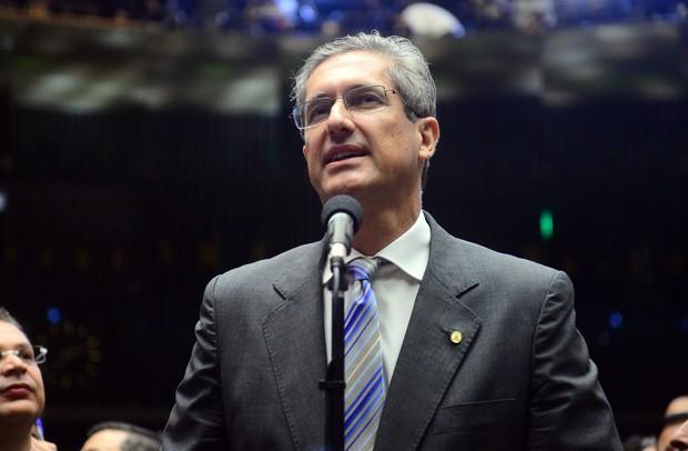 O líder do PSD, Rogério Rosso (DF), é um dos principais candidatos à presidência da Câmara (Foto: Nilson Bastian/Câmara dos Deputados)