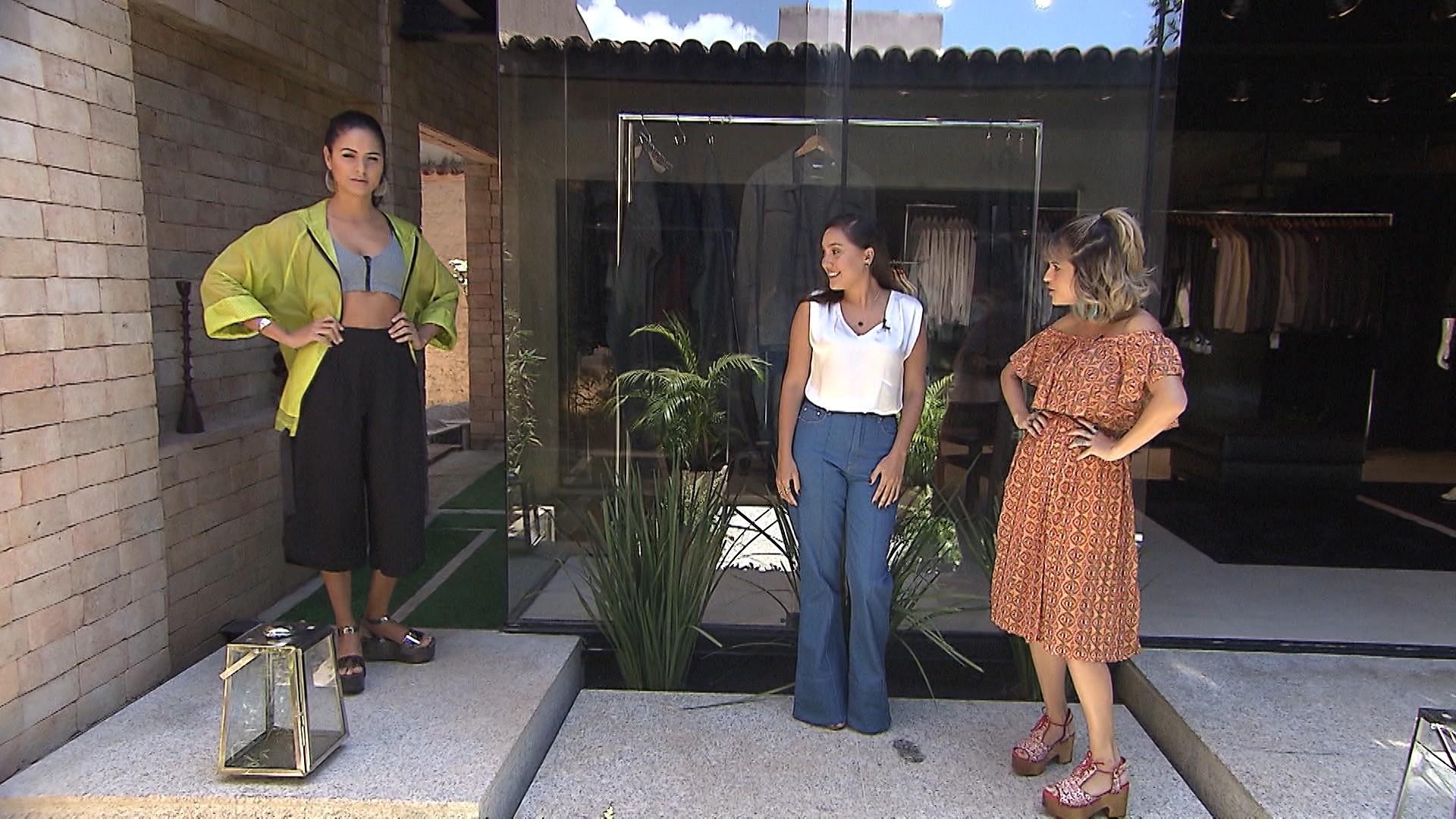 'Expresso' mostra a tendência da pantacourt (Foto: Divulgação)
