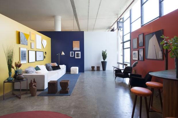 O espaço da Casa Vogue na SP-Arte 2017 (Foto: André Klotz)