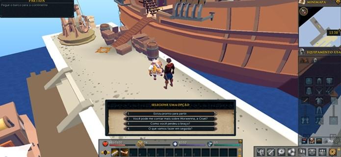 Runescape possui uma aventura focada no personagem com boa história (Foto: Reprodução / Dario Coutinho)