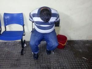 Homem já cumpria pena por estelionato (Foto: Kléber Teixeira/Inter TV Cabugi)