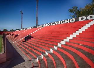 Arquibancadas Bento Freitas (Foto: Carlos Insaurriaga/GE Brasil de Pelotas)