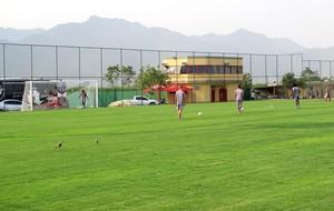 treino Vasco CT CFZ  (Foto: Gustavo Rotstein / Globoesporte.com)