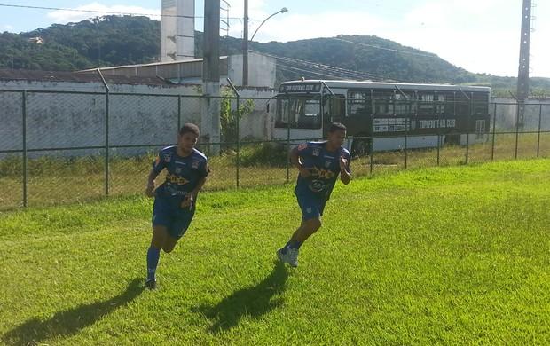 Fábio Tenório e Diego Maia Reforços Tupi-MG (Foto: Diego Alves)