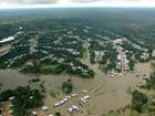 No AM, nível do Rio Solimões pode atingir cota recorde nos próximos dias