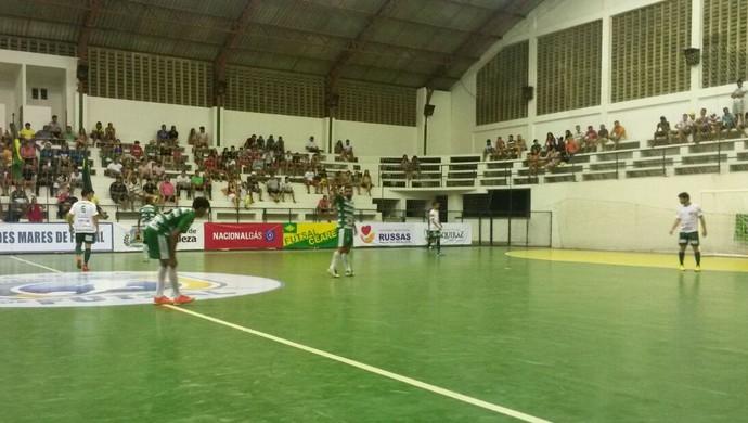 São João do Jaguaribe, Aquiraz, Copa TV Verdes Mares, futsal (Foto: Caio Ricard/TV Verdes Mares)