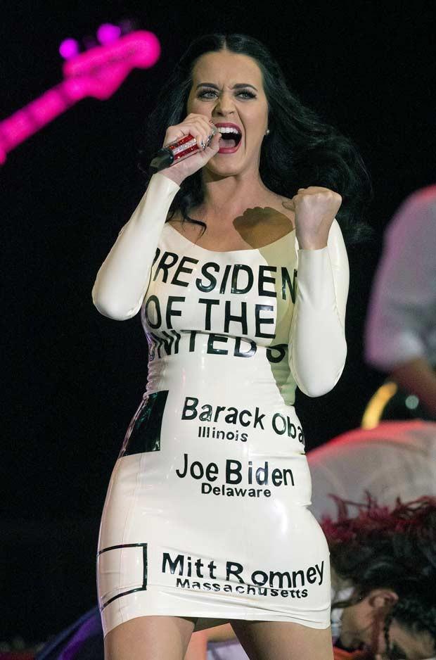 Modelo justo imitava cédula eleitoral com votos em Barack Obama e seu vice, Joe Biden (Foto: AP)