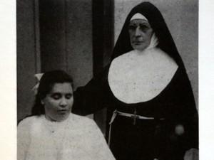 Madre Cecília do Coração de Maria, de Piracicaba, que teve uma filha deficiente (Foto: Reprodução)