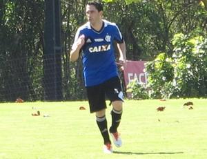 Chicão treino do Flamengo (Foto: Richard Souza)