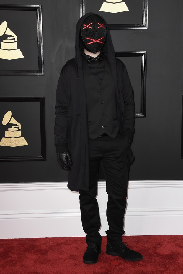 Looks ousados no tapete vermelho do Grammy (Foto: Getty/Frazer Harrison)