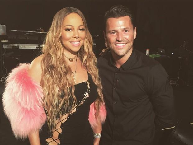 Mariah Carey e Mark Wright (Foto: Reprodução/Instagram)