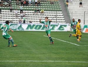 Marcel comemora gol pelo Juventude (Foto: Juventude/Divulgação)