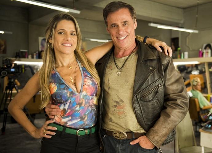Marlene e Nelson (Foto: Caiuá Franco / TV Globo)