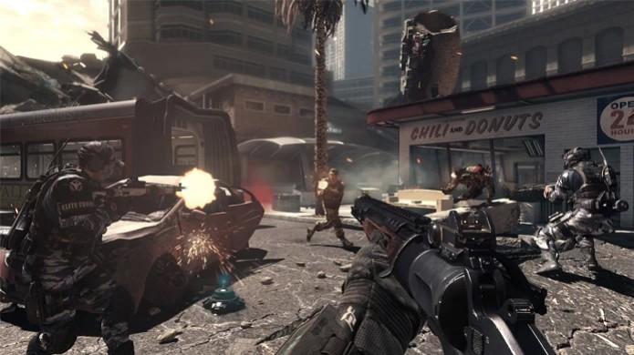Multiplayer de Call of Duty: Ghosts sobre com problemas no Xbox One (Foto: Divulgação)