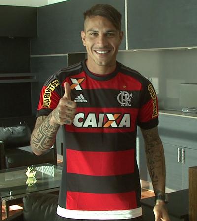 Paolo Guerrero; Flamengo (Foto: Reprodução/SporTV)
