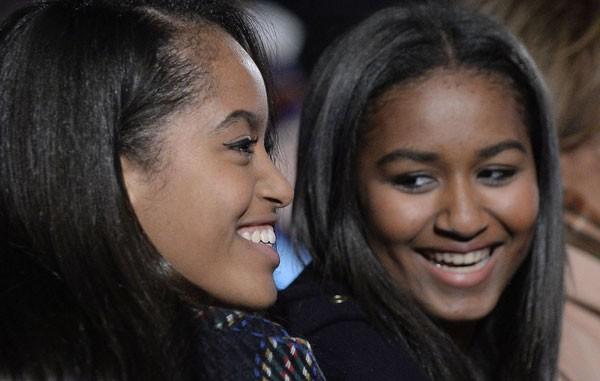 Sasha e Malia Obama (Foto: Getty Images)