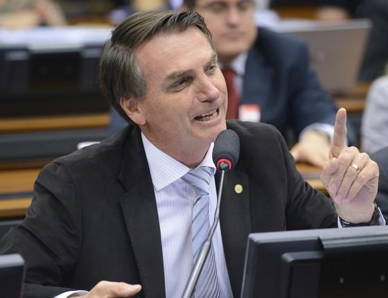 O deputado federal Jair Bolsonaro (Foto: Gilmar Felix - Câmara dos Deputados)