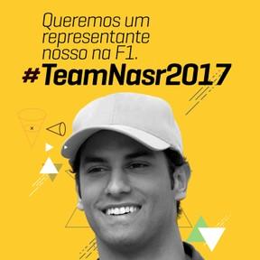 Campanha #TeamNasr2017