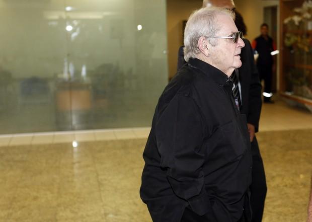 Jô Soares no velório do filho Rafael Soares (Foto: Marcos Serra Lima/EGO)