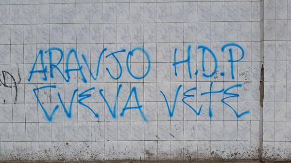 Torcida protesto Alianza Lima