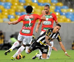 Botafogo e Portuguesa (Foto: Andre Durão)