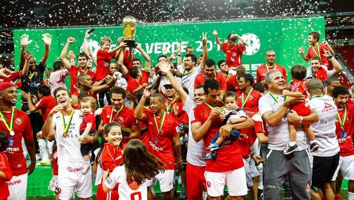 Brasília campeão da Copa Verde (Foto: Tarso Sarraf/O Liberal)