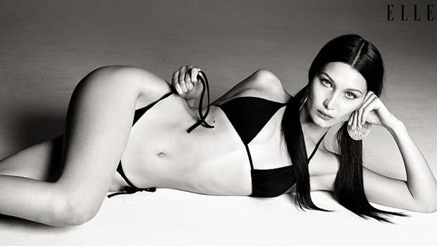 Bella Hadid (Foto: Reprodução/Elle)