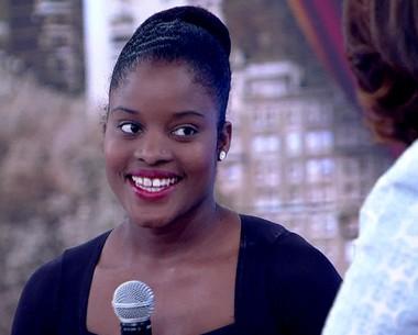 Bailarina carioca é primeira solista de balé de Nova York (TV Globo)