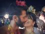 Samara Felippo posta foto beijando o namorado, Elidio Sanna: 'Amor'