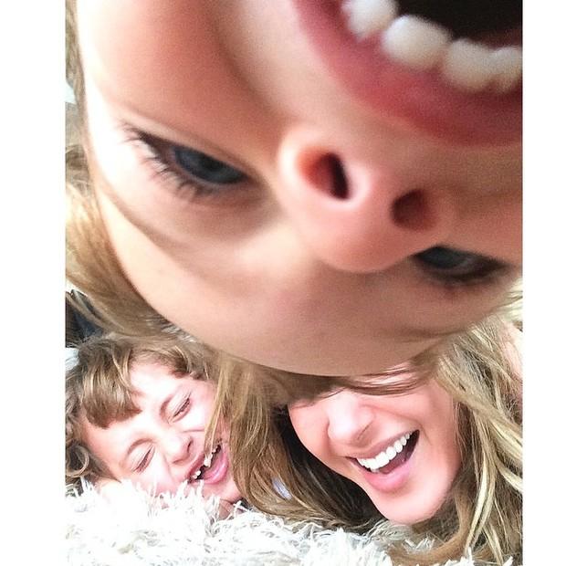Claudia Leitte com os filhos  (Foto: Instagram / Reprodução)