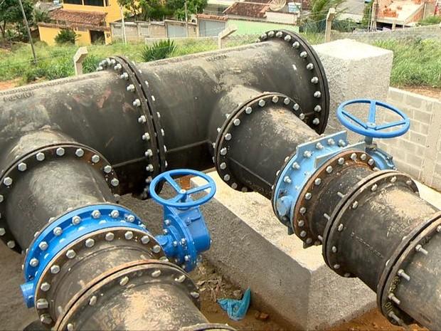 Guarapari inaugura novo reservatório de água (Foto: Reprodução/TV Gazeta)