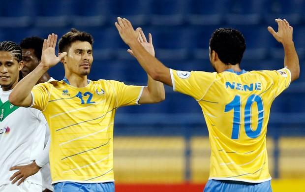 Alex Nenê al-gharafa gol Al-ahli liga dos campeões da Ásia (Foto: Agência Reuters)