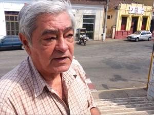 Marcos Faria considera Belchior como um dos homens mais importantes de Minas (Foto: Ricardo Welbert/G1)