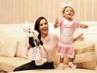 'A Páscoa ficou mais especial', diz Maytê Piragibe ao lado da filha