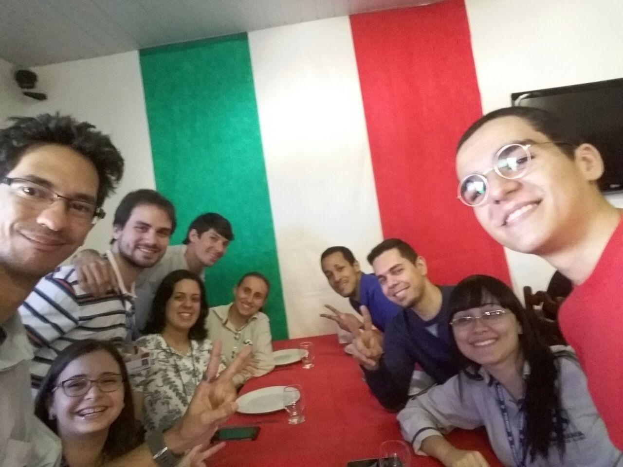 Equipe do G1 e GE Caruaru e Região reunida (Foto: André Hilton / TV Asa Branca)