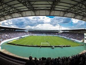 Arena da Fonte já recebeu grandes clubes do país  (Foto: Alceu Patricio/Arquivo Pessoal)