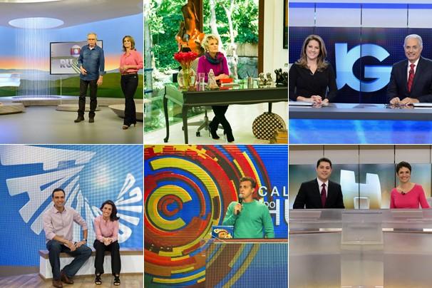 Programas da Globo ganham novos cenários neste mês; confira abaixo como ficaram' (Foto: Globo)