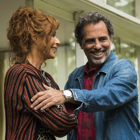 Andréa Beltrão e Maurício Farias (Foto: Cesar Alves/ TV Globo)