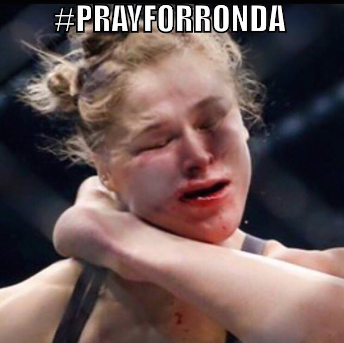 Meme, Ronda Rousey, UFC 193