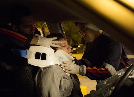 Bruno é resgatado inconsciente de atentado