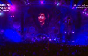 David Guetta encerra show no Tomorrowland Brasil 2016 com homenagem a Prince