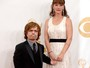 Ator que vive Tyrion de 'Game of Thrones' vai ao Emmy com a mulher